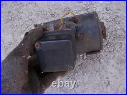 John Deere JD A B tractor 6V generator + belt drive pulley GOOD Working