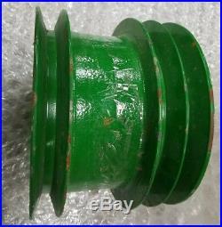 John Deere OEM part # HXE10397 combine primary jackshaft belt pulley S series