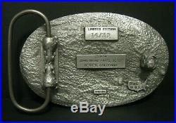 John Deere Parts Depot Denver 5 Year EMPLOYEE Safety Award 1993 Deer Belt Buckle