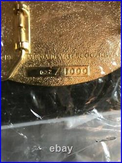 John Deere Waterloo Boy 032/1000 Gasoline Engine Co. 1984 Belt Buckle JD