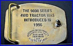 John Deere Waterloo DSS FIRE BRIGADE 9400 Tractor EMPLOYEE Belt Buckle 1996 1/68