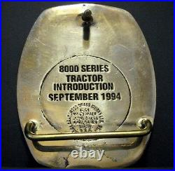 John Deere Waterloo TAD FIRE BRIGADE 8000 Tractor EMPLOYEE Belt Buckle 1994 1/31