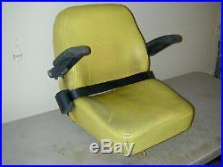 John Deere Zero Turn Mower Seat With Base Seat Belts OEM