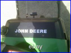 John Deere snow blower what you see in pics is the item = READ ADD = TRS21