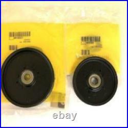 M143019 M154958 AM106627 AM37249 John Deere OEM Set of Deck Belts & Idlers