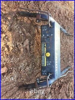 OEM John Deere GS45 Belt Drive Walk Behind Handle Bar Assembly AM123899. Rear