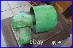 Original John Deere 420-430 Tractor Belt Pulley Assembly Jd 320,330 Or 1010