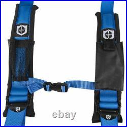 Pro Armor 2 Harness Can-Am Maverick Commander Defender X3 1000 800 BLUE PAIR