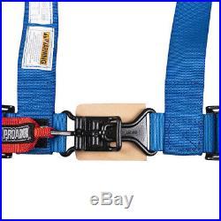 Pro Armor Harness Safety Belt Polaris RZR 4 1000 XP Turbo 900 Blue 2