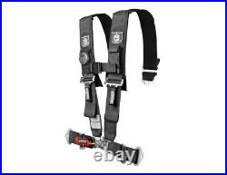 Pro Armor Seat Belt 5 Point Harness RZR XP Maverick 900 1000 Turbo RS1 Black 3