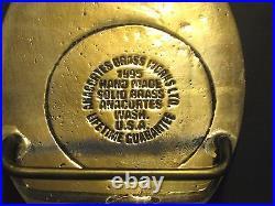 RARE 1996 John Deere Waterloo Foundry FIRE BRIGADE Employee Belt Buckle CPR jd