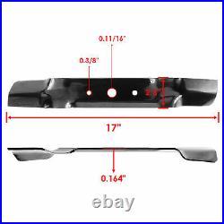 Spindles Blades Belt Idler Pulley Rebuild Kit for John Deere L120 L130 48 Deck