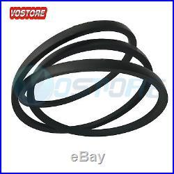 Transmission & Deck Belt for John Deere 42 LA100 LA110 LA115 LA120 LA125 LA135