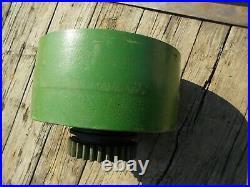 Unstyled John Deere GP JD tractor Flat belt pulley clutch drive C126R