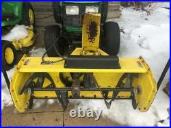 Used 2007 John Deere 47 Quick Hitch Tractor Snow Blower
