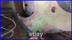 VINTAGE ANTIQUE John Deere FLAT BELT PULLEY C383E implement hit miss
