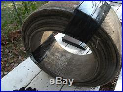 Vintage Farmall John Deere Allis Ford tractor pulley flat belt 8 420 FREE SHIP