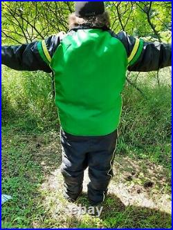 Vintage John Deere 3 Piece Winter Wear Snow Suit Large No Stains Rips or Tears