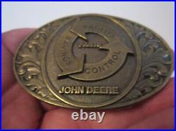 Vintage John Deere Parts Belt Buckle Heavy Limited Edition Gw-14