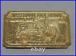 WATERLOO BOY RALLY Northwood Iowa Belt Buckle John Deere Gold 1983 only 100 made