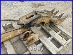 Weld-on Hydraulic Thumb, Fits Case, Cat, Deere, Hitachi, Link-Belt, Komatsu, JCB